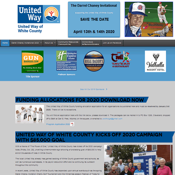 United Way White County